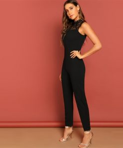 Lace Embroidery Elegant Belted Jumpsuit.jpg