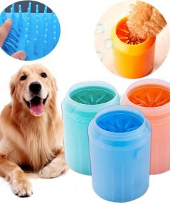 Dog Cat Paw Cleaner Cup