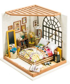 Miniature Bedroom Wooden Doll House