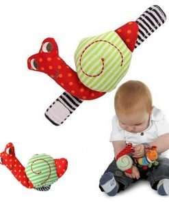 Colorful Snail Shaped Cute Baby Rattle.jpg