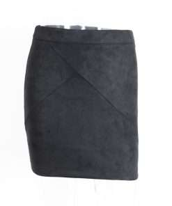 Sexy Suede Pencil Skirt