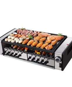 Auto Rotating Non-stick Indoor Electric Grill
